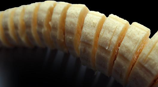banane tranchée muscles