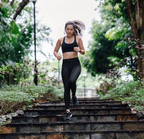 escaliers sport