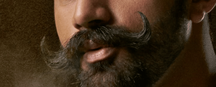 moustache regard des gens