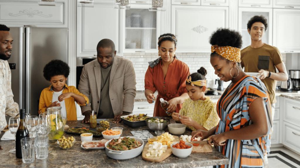 repas famille troubles de conduite alimentaire