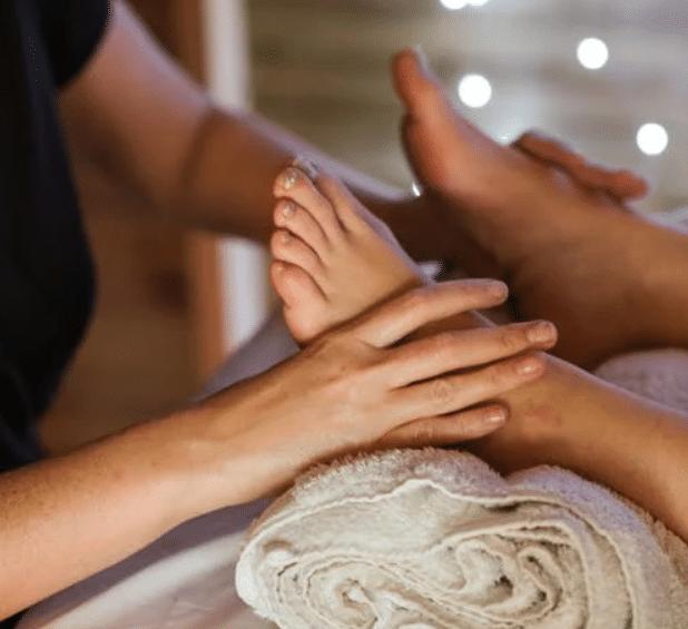 massage des pieds thérapies contre l'anxiété